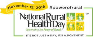 National Rural Health Day: Celebrating the Power of Rural! It's not just a day, it's a movement.